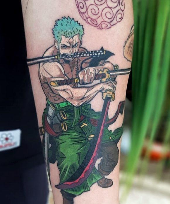 zoro tattoo